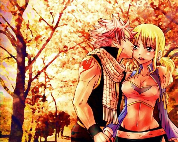 Lucy x Natsu