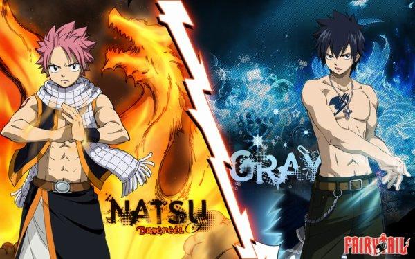 Natsu VS Grey