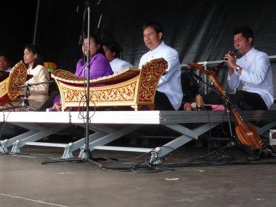 le Groupe Thaïlandais anime le festival