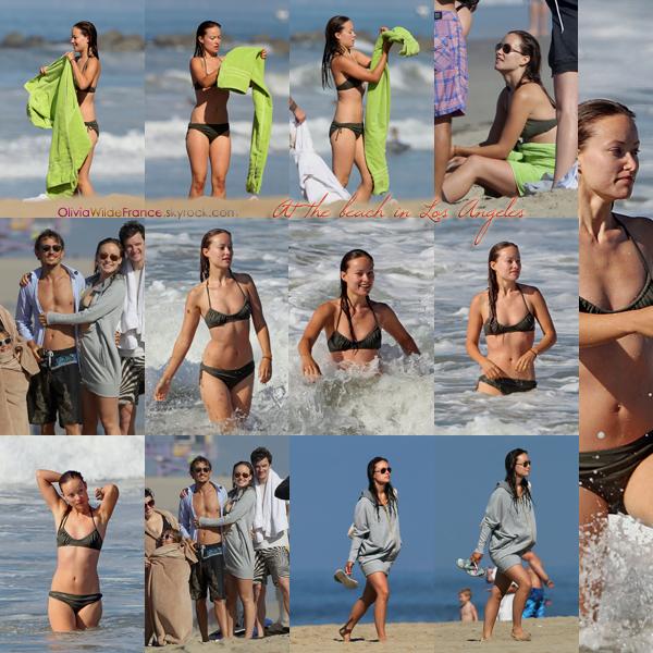 Candids | 24 août  Voici de nouvelles photos d'Olivia profitant d'un matin ensoleillé à la plage, à Los Angeles, avec Tao Ruspoli et sa famille. Olivia a l'air en forme et est comme à son habitude très souriante, ça fait plaisir !