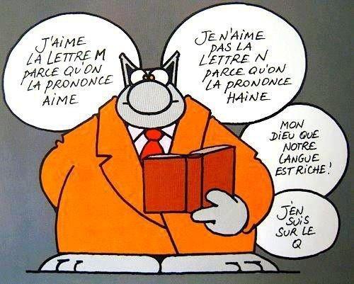 LANGUE FRANÇAISE...!