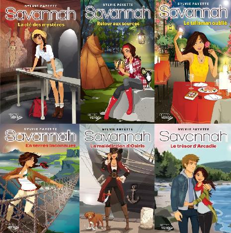 Ma nouvelle série coup de coeur !!! Les aventures de Savannah !!! :P