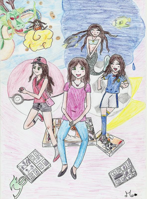 mon dessin pour le concours de roymasama
