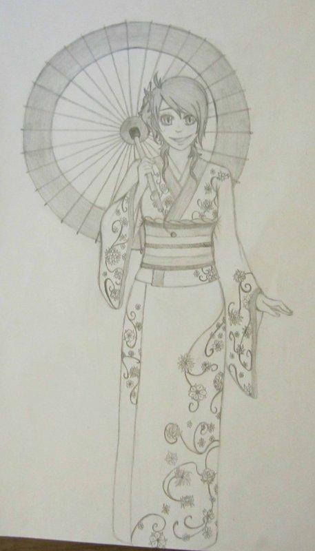 Eiko Daardia et son petit kimono~