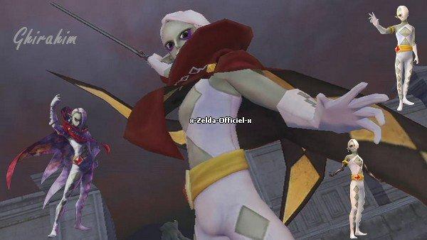 Ghirahim de Skyward Sword