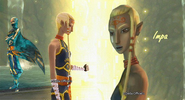Impa de Skyward Sword