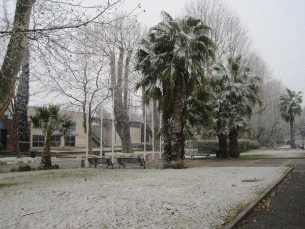 La fac sous la neige youuuuuuhhhouuuu