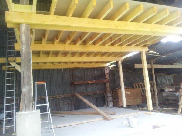 solivage et plancher de l atelier ok!!! Blog de limouzini # Solivage Plancher Bois