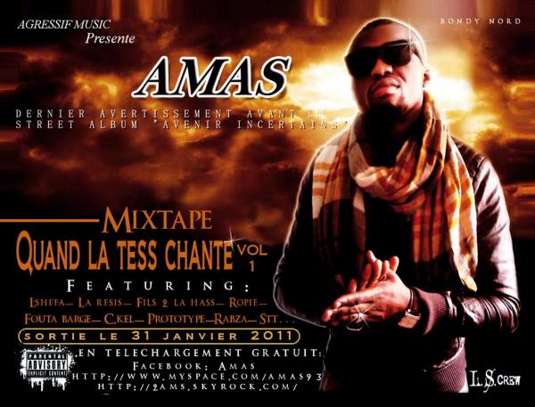 Pochette mixtape rap - Avant