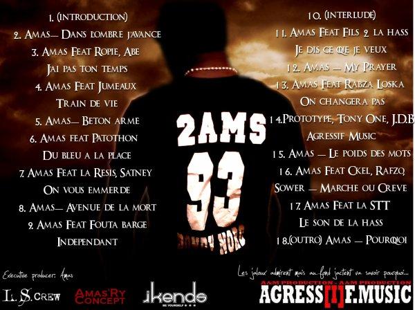 Pochette mixtape rap - Arrière