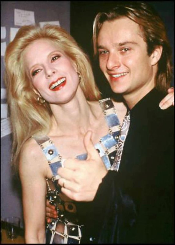 David et sa maman