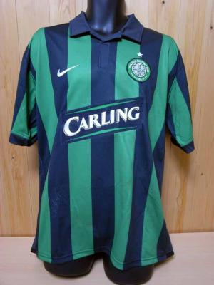 save off e8753 b53d5 06/07 Celtic #25 Nakamura Match-worn away shirt (1) Scottish ...