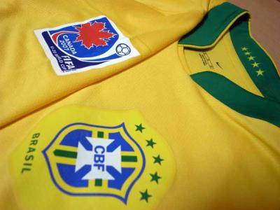 261da03e27e Brazil  11 Alexandre Pato Match-worn home shirt (3) 2007 FIFA U-20 World Cup