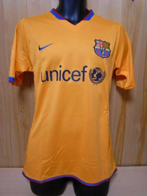 a951897bb 07 08 FC Barcelona  19 Messi Match-issued 3rd shirt (1) UEFA Champions  League