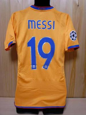 9f9da6682 07 08 FC Barcelona  19 Messi Match-issued 3rd shirt (2) UEFA Champions  League