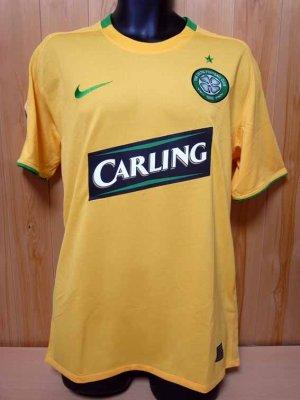 competitive price 9e119 64b1f 08/09 Celtic #25 Nakamura Match-worn away shirt (1) UEFA ...