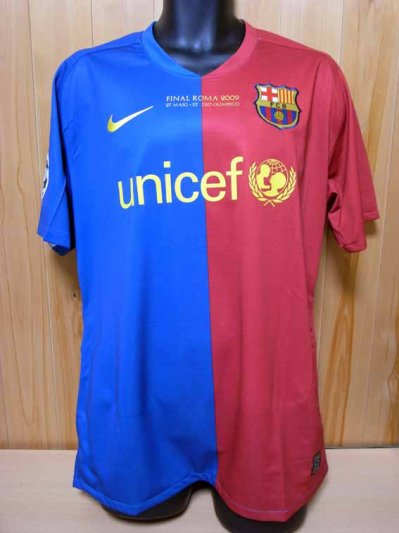 c7f49630e 08 09 FC Barcelona  14 Henry Match-issued home shirt (1) UEFA Champions  League
