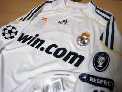 low priced 28881 10588 09/10 Real Madrid #8 Kaka Match-issued home shirt (3) UEFA ...