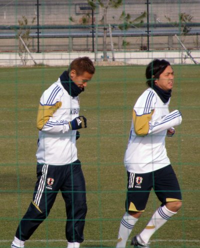 Japan national team training camp for AFA Asian Cup Qatar 2011 (2)