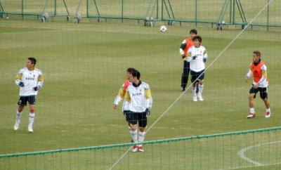 Japan national team training camp for AFA Asian Cup Qatar 2011 (3)