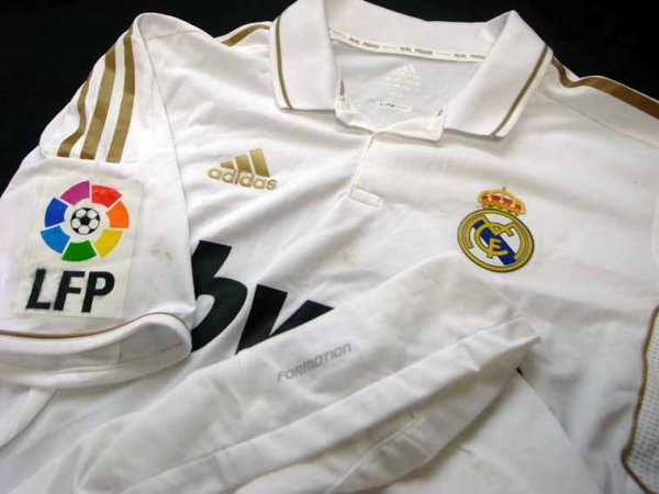 11/12 Real Madrid #3 Pepe Match-worn home shirt (3) Liga espanola