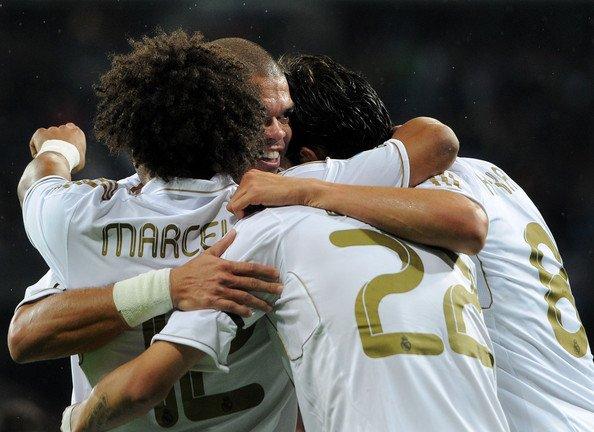 11/12 Real Madrid #3 Pepe Match-worn home shirt (4) Liga espanola