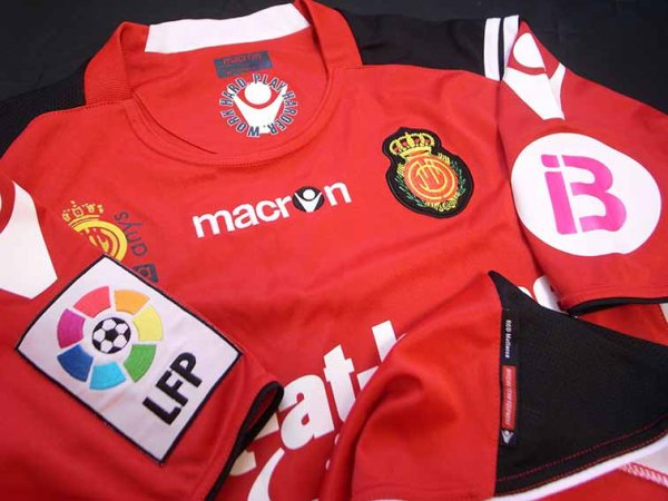 "10/11 Real Mallorca #14 ""Aki"" Ienaga Match-worn home shirt (3) Liga espanola"