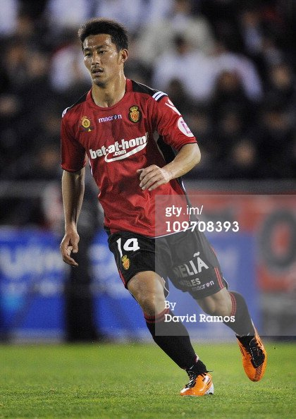 "10/11 Real Mallorca #14 ""Aki"" Ienaga Match-worn home shirt (4) Liga espanola"