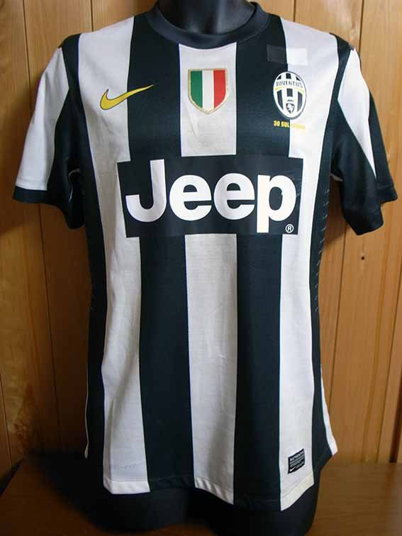 12/13 Juventus #12 Giovinco Match-worn home shirt (1) Serie A/Lega Calcio