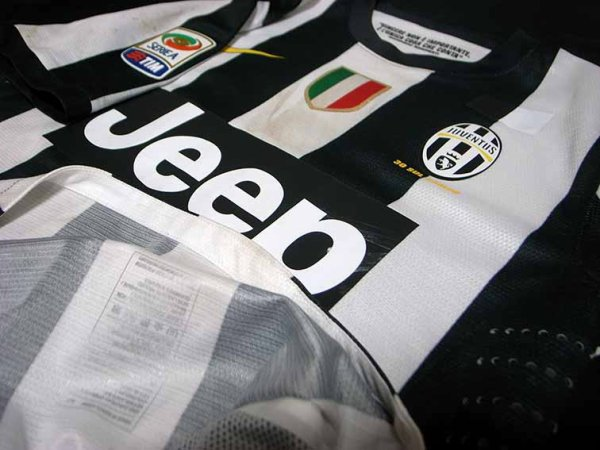12/13 Juventus #12 Giovinco Match-worn home shirt (3) Serie A/Lega Calcio