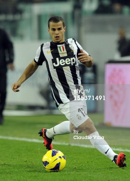 12/13 Juventus #12 Giovinco Match-worn home shirt (4) Serie A/Lega Calcio