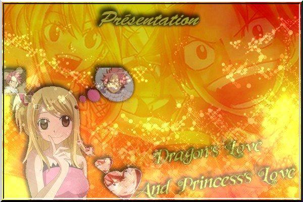 """Dragon's love and Princess's love"" De Yena-fana-NaLu"