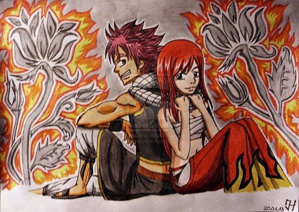 """Couple Innatendu a Fairy Tail !"" De Erza-x-Natsu2000"