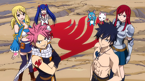 """Beaucoup de surprises pour Fairy Tail !"" De NaLu-fiction-powaaaaa"