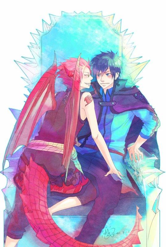 """""""Le feu et la glace"""" De altahir [Fairy Tail]"""