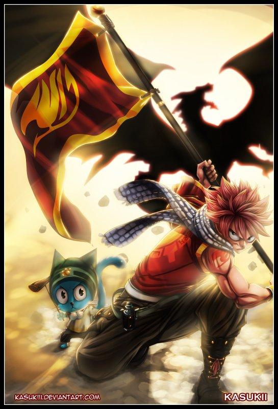 """""""La flamme de la liberté """" De fairy-tail-law [Fairy Tail]"""