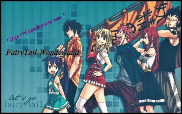 """""""Une nouvelle parmi nous!"""" De FairyTail-Wonderland [Fairy Tail]"""