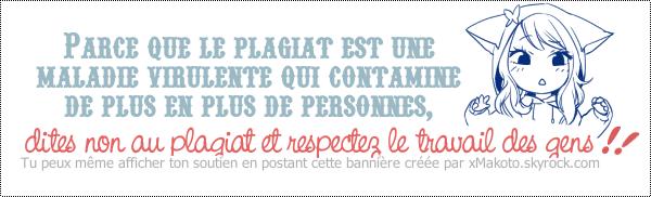 Bannière Anti-Plagiat + Petit Rappel