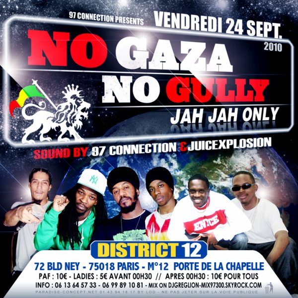 VENDREDI 24 SEPTEMBRE 2K10 DISTRICT 12 KA BYE