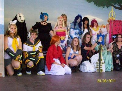 Concours cosplay au Walygator.  (Parc d'attraction en Moselle dans le 57)