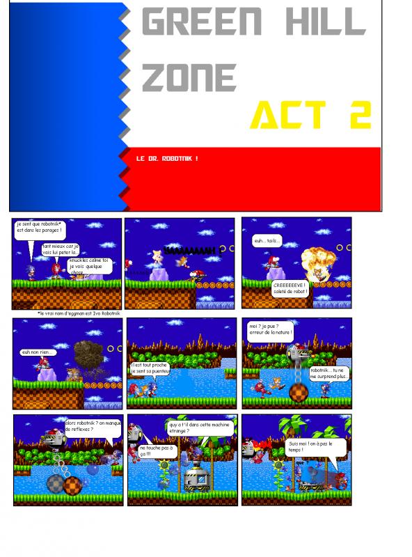 # SPRITE COMIC - sonic