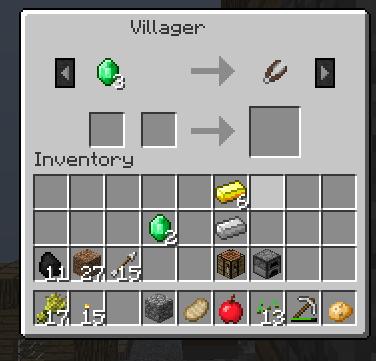 # ASTUCE - minecraft