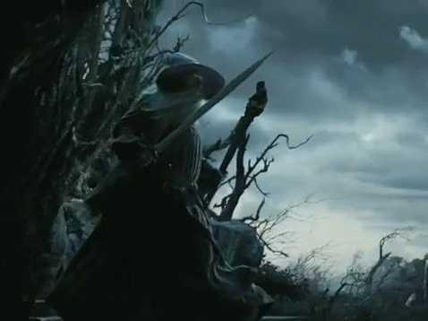 Gandalf à Dol Guldur