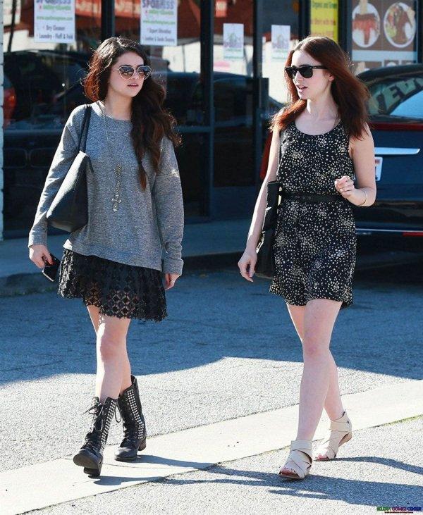 Selena le 14 février