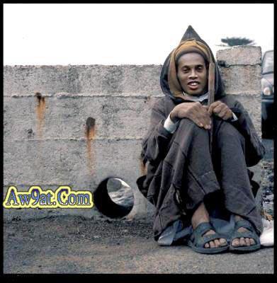 Ronaldinho in Maroc