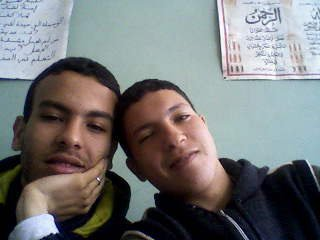 With my freind Moha, 2009