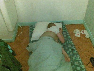 Moi en train de dormir après kevin