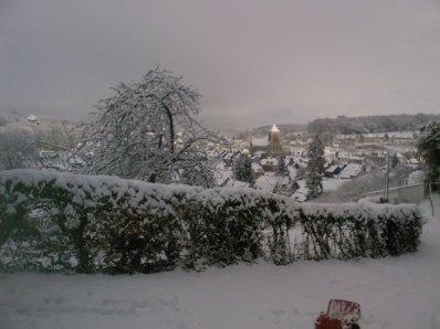 Saint saens sous la neige