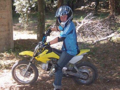 mon frere sur la moto c rare