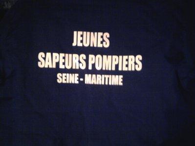 JEUNE SAPEUR POMPIER SEINE MARITIME